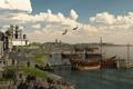 Картинка арт, Artur Rosa, Dragul Docks, fantasy мир