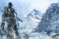 Картинка снег, горы, снайпер, Sniper Ghost Warrior 2