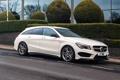 Картинка Mercedes, мерседес, AMG, амг, UK-spec, Shooting Brake, CLA 45