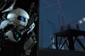 Картинка Portal 2, турели, прикрытие, боты