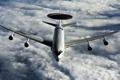 Картинка небо, оружие, самолёт, E-3A (AWACS)