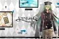 Картинка карты, коса, парень, зеленые волосы, Amnesia, Ukyo, амнезия