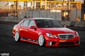 Картинка red, Mercedes Benz, tuning, canibeat, C350, E350, Stance Lab