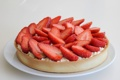 Картинка клубника, ягода, пирог, десерт