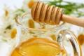 Картинка branch, капля, ромашки, spoon, белые, мёд, jar