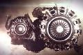 Картинка турбина, лопасти, рендер, digital art, стим панк