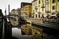 Картинка italy, милан, milan, canal, навиглио, naviglio, италия