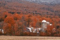 Картинка осень, ферма, вермонт