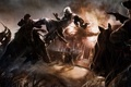 Картинка люди, пожар, лошади, Assassins Creed, Cicatrizes da Liberdade 3
