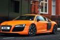 Картинка Audi, Лондон, Ауди, Машина, Оранжевая, Desktop, Orange