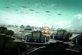 Картинка поле, война, самолеты, war, танки, R.U.S.E., Thanks to terryz