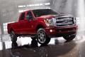 Картинка свет, красный, отражение, ангар, джип, ford, форд
