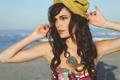 Картинка лето, настроение, берег, модель, Casey Carlson