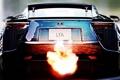 Картинка пламя, Lexus, выхлоп, LFA