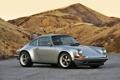 Картинка дорога, тюнинг, купе, 911, Porsche, серебристый, Порше