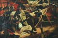 """Картинка """"Ранение Багратиона"""", Валентин Мелик-Агамирян, монументальное полотно, художник"""