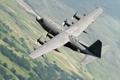 Картинка полёт, самолёт, C-130M, военно-транспортный