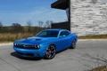Картинка синий, фон, Додж, Dodge, Challenger, передок, Muscle car