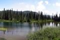 Картинка природа, озеро, парк, фото, США, Washington, Mount Rainier