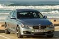 Картинка море, вода, BMW, ActiveHybrid 3, вид сперди
