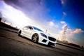 Картинка Mercedes-Benz, Небо, Авто, Провода, Тюнинг, Мерседес, Машины