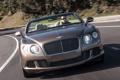 Картинка дорога, Bentley, Continental, передок, бентли, Speed Convertible