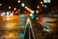 Картинка дорога, ночь, боке