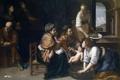 Картинка картина, мифология, Рождение Иоанна Крестителя, Артемизия Джентилески