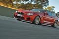 Картинка Красный, Авто, Дорога, BMW, БМВ, Фары, Купэ