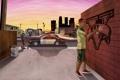 Картинка графити, Grand Theft Auto V, лос сантос, Франклин