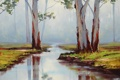 Картинка АРТ, РИСУНОК, ARTSAUS, RED RIVER GUMS AUSTRALIA