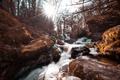 Картинка природа, камни, река