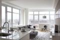 Картинка дизайн, город, стиль, интерьер, жилая комната, городская квартира