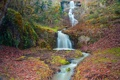 Картинка осень, горы, река, водопад
