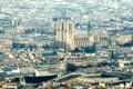 Картинка Франция, Париж, панорама, мегаполис