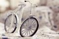 Картинка велосипед, игрушка, колеса, фигурка