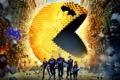 Картинка фантастика, Michelle Monaghan, пришельцы, постер, Пиксели, вторжение, Peter Dinklage