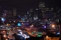 Картинка ночь, огни, california, калифорния, night, san francisco, highway