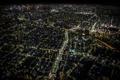 Картинка ночь, огни, здания, дома, Япония, освещение, Токио