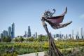 Картинка парк, небоскребы, USA, америка, чикаго, Chicago, illinois