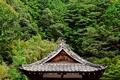 Картинка крыша, зелень, деревья, Япония, сад, пагода