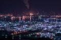 Картинка Okayama Prefecture, Japan, Factory Lights, Kurashiki-shi