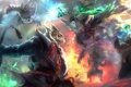 Картинка Dota 2, Shadow Demon, Dark Seer, Outworld Devourer, Brewmaster, Ogre Magi