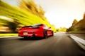Картинка скорость, размытость, red, Mazda, блик, красная, мазда