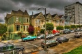 Картинка город, фото, улица, дома, Калифорния, Сан-Франциско, США