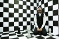 Картинка ситуация, шахматы, мужчина, безумие