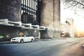 Картинка город, BMW, кабриолет