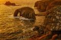 Картинка море, скалы, берег, арка