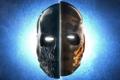 Картинка череп, маски, army of two, прорези, для глаз