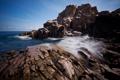 Картинка лето, океан, скалы